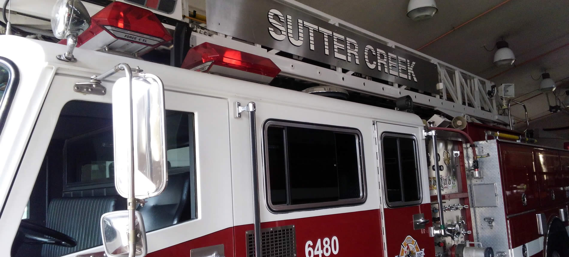 sutter creek fire district truck